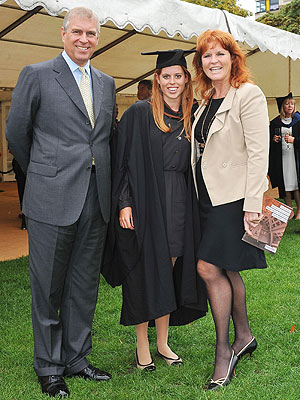 Sarah Ferguson Attends Princess Beatrice's Graduation