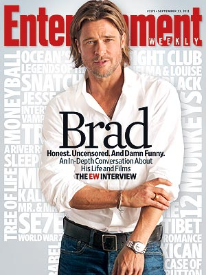Moneyball Star Brad Pitt's Entertainment Weekly Cover