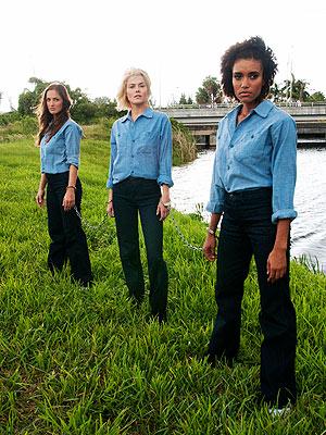PHOTO: Minka Kelly in Chains   Minka Kelly, Rachael Taylor