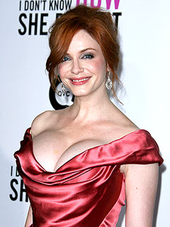 How Christina Hendricks Spices It Up at Home | Christina Hendricks