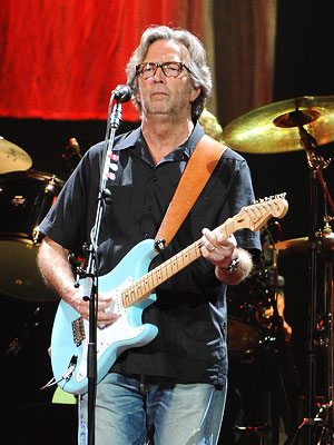 Eric Clapton Plays Wedding Singer for Daughter's Big Day | Eric Clapton