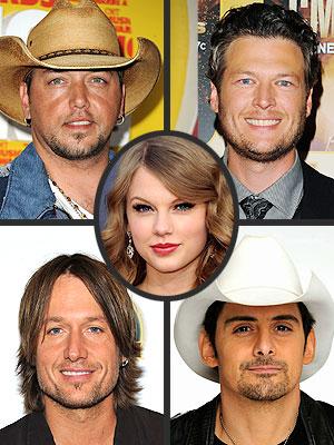 Taylor Swift, Brad Paisley, Blake Shelton Join CMA Awards Lineup | Keith Urban, Blake Shelton, Brad Paisley, Jason Aldean, Taylor Swift