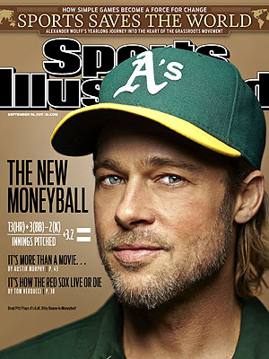 Moneyball Star Brad Pitt: I Never Played Baseball