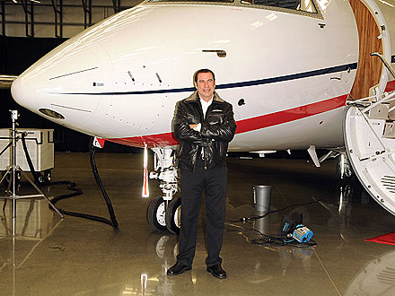 John Travolta Buys New Plane