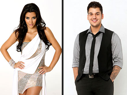 Dancing with the Stars - Kim Kardashian Cheers on Brother Rob Kardashian