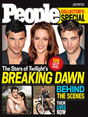 Inside PEOPLE&#39;s Breaking Dawn Special Issue | Kristen Stewart, Robert Pattinson, Taylor Lautner