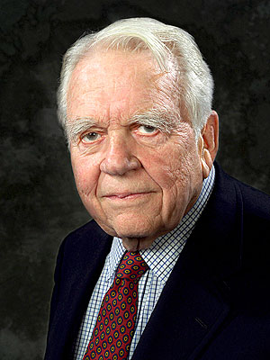 Andy Rooney Hospitalized for 'Serious' Surgery Complications | Andy Rooney