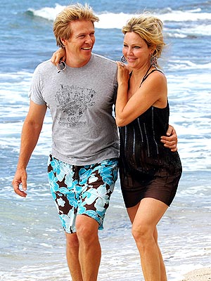 PHOTO: Heather Locklear's Birthday Beach Date | Heather Locklear, Jack Wagner