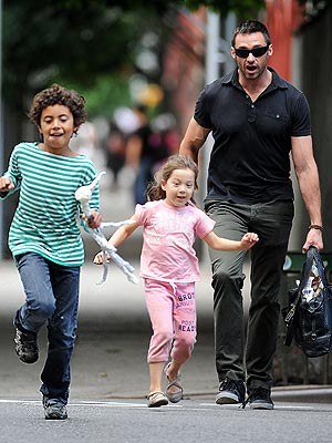 hugh jackman 300 Hugh Jackmans Old Fashioned Parenting Policy