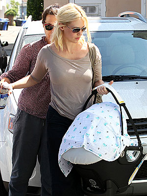 PHOTO: See January Jones's Post-Baby Body | January Jones