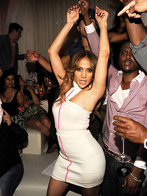 iHeartRadio Headliner Jennifer Lopez Parties in Las Vegas
