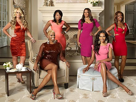 kim zolciak 440 Atlanta Housewives Phaedra Parks Says Dont Believe What You See On The Show
