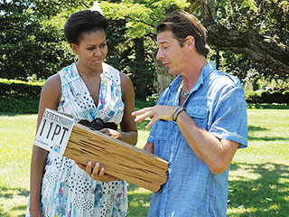 Michelle Obama Shows Off 'Limited' Handy Skills on Extreme Makeover: Home Edition | Michelle Obama