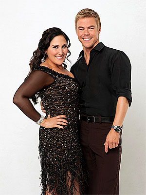 Dancing with the Stars: Derek Hough Tells Ricki Lake She's Not Kirstie Alley