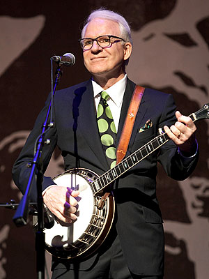 Finger-Pickin' Good: Steve Martin's Band Named Entertainers of the Year | Steve Martin