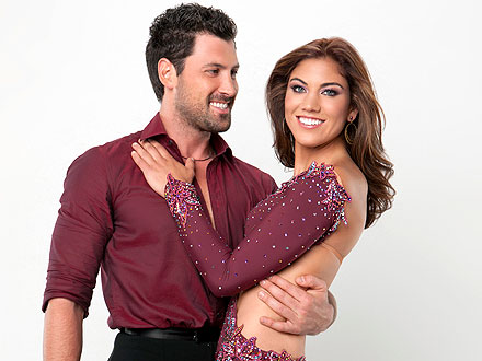 hope solo 440 Maksim Chmerkovskiy Makes Post Meltdown Return to Dancing