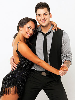 rob kardashian 300 Cheryl Burke: Rob Isnt Letting Kims Divorce Distract Him on Dancing