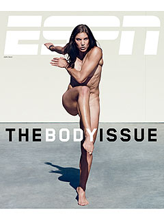 PHOTO: Hope Solo Goes Nude on Magazine Cover | Hope Solo