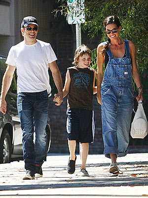 James Marsden's Sunny Stroll with His Soon-to-Be-Ex   James Marsden