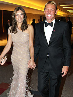 5 Things to Know About Elizabeth Hurley&#39;s Fianc&#233; Shane Warne | Elizabeth Hurley, Shane Warne