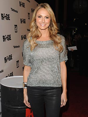 George Clooney's Girlfriend Stacy Keibler Says She's Grateful