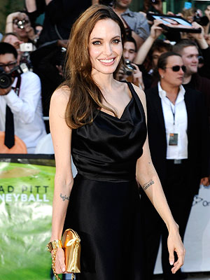 Angelina Jolie: I Save My Wild Side Now for Brad | Angelina Jolie