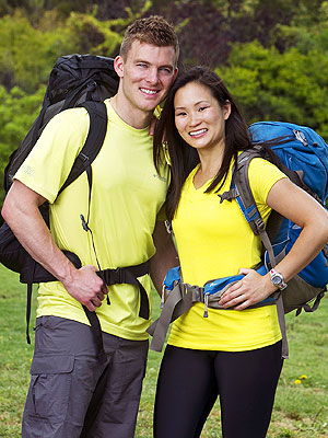 Amazing Race: Ernie and Cindy's Bad Bike Luck