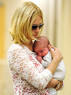 PHOTO: January Jones Brings Baby Xander to Mad Men Set | January Jones