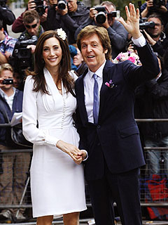 Paul McCartney&#39;s Special Wedding Song for Nancy | Nancy Shevell, Paul McCartney