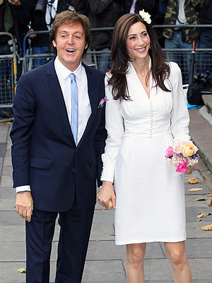 Paul McCartney Marries Nancy Shevell | Nancy Shevell, Paul McCartney