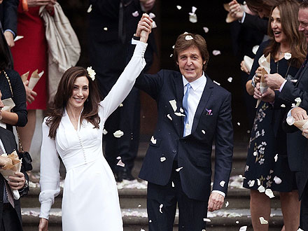 Paul McCartney Marries Nancy Shevell| Weddings, Nancy Shevell, Paul McCartney