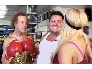 Is Richard Simmons Sick? | Chaz Bono, Lacey Schwimmer, Richard Simmons