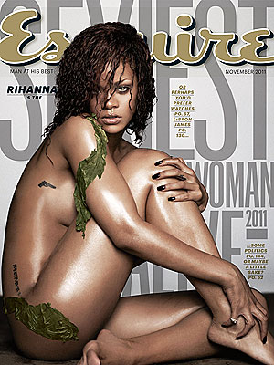 Rihanna Esquire's Sexiest Woman Alive