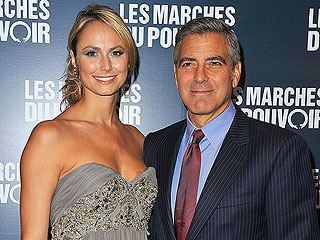 George Clooney & Stacy Keibler Enjoy Dinner and a Movie in Paris | George Clooney