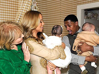 Mariah Carey's Twins Make Their TV Debut | Barbara Walters, Mariah Carey, Nick Cannon