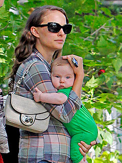 PHOTO: Natalie Portman Takes Baby Aleph Out in Hollywood | Natalie Portman