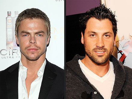 derek hough 440 Derek Hough Extremely Surprised by Maksim Chmerkovskiys Outburst