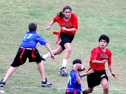 Paris Jackson Scores – on the Football Field| Michael Jackson