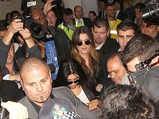 Kim Kardashian Arrives in Australia for First Public Appearance| Kim Kardashian, Kris Humphries, Individual Class, Khloe Kardashian