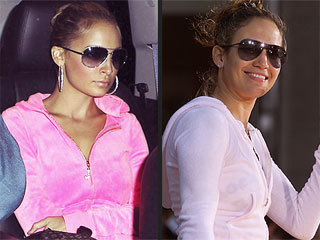 PHOTOS: Nicole Richie Is Dead Ringer for Jennifer Lopez on Halloween