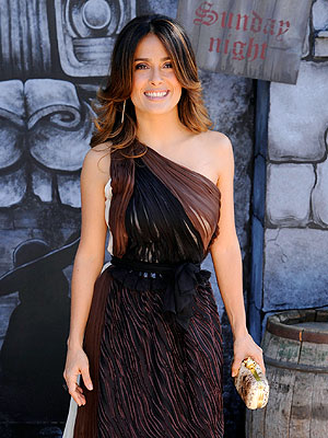Salma Hayek Will Be 'Knighted' in France