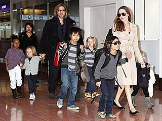 Angelina Jolie: Kids Wonder Why We're Not Married Like Shrek & Fiona | Angelina Jolie, Brad Pitt, Knox Jolie-Pitt, Maddox Jolie-Pitt, Pax Thien Jolie-Pitt, Shiloh Jolie-Pitt, Vivienne Jolie-Pitt, Zahara Jolie-Pitt