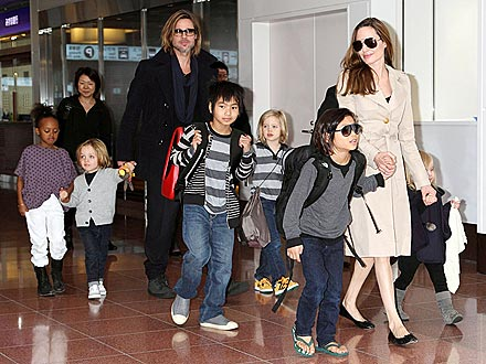 Angelina Jolie and Brad Pitt's Children Ask About Marriage