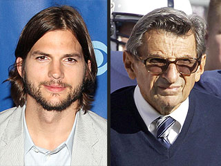 Ashton Kutcher Twitter Storm over Joe Paterno, Penn State