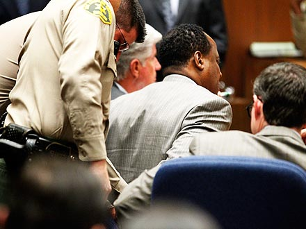Michael Jackson's Doctor Conrad Murray Convicted| Crime & Courts, Conrad Murray, Michael Jackson
