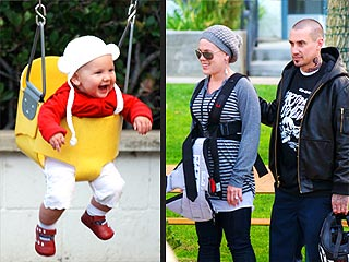 Pink's Daughter Willow Gets in the Swing of Things | Carey Hart, Pink
