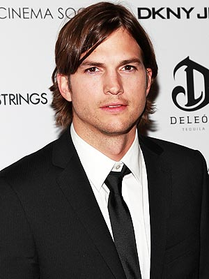 Ashton Kutcher Space Flight