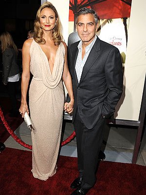 George Clooney Dating Stacy Keibler