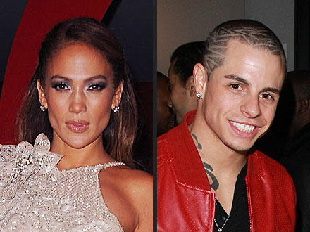Casper Smart Jennifer Lopez dancer relationship