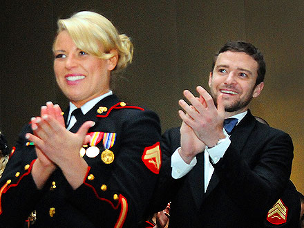 Justin Timberlake at Marine Corps Ball: Pictures : People.